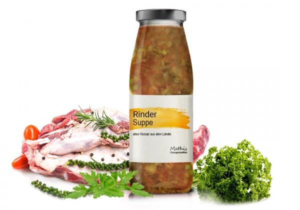 Rindersuppe