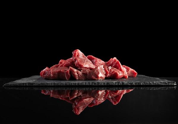 Gulasch-Fleisch vom Rind